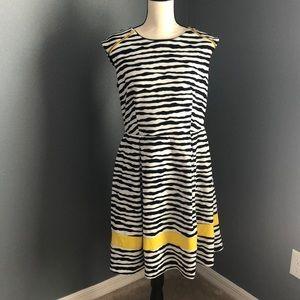 Black and white zebra Dress - Size 12